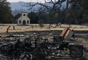Paramount Ranch post fire