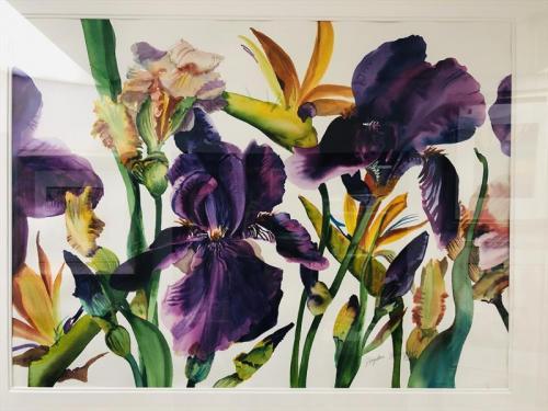 Iris and Birds