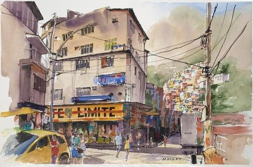 Favela Canoes