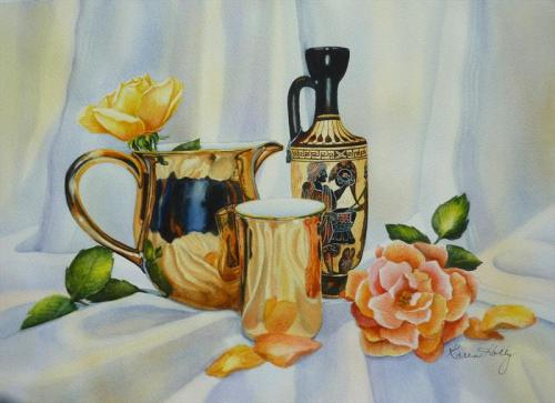 Grecian Urn and Gold