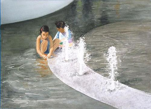 Children at Grand Park
