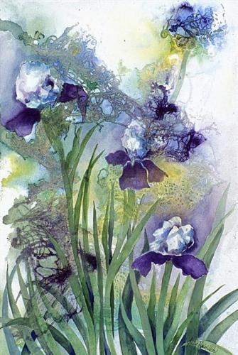 Iridescent Iris